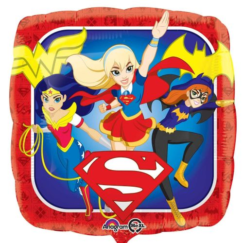 "18"" DC Super Hero Girls Standard Foil Balloons"